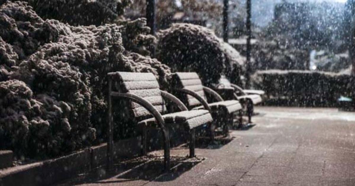 Турецьку Анкару засипало снігом: фото і відео