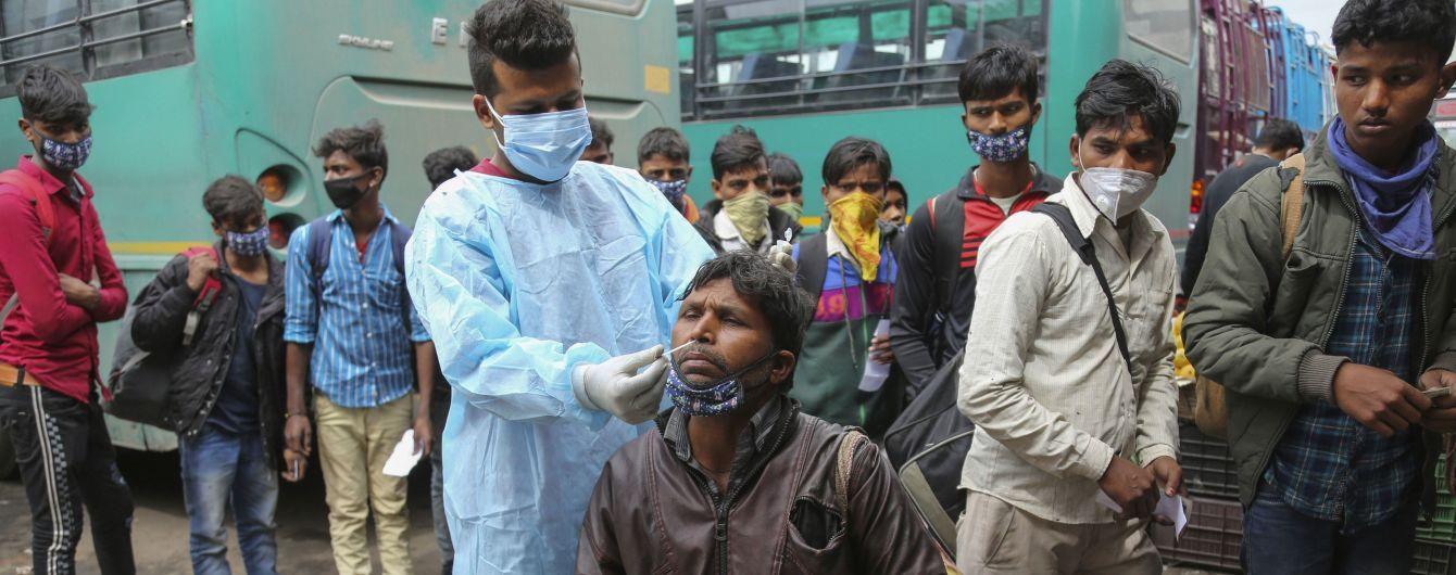 Коронавірус продовжує змінюватися: в Індії виявили новий штам з подвійною мутацією