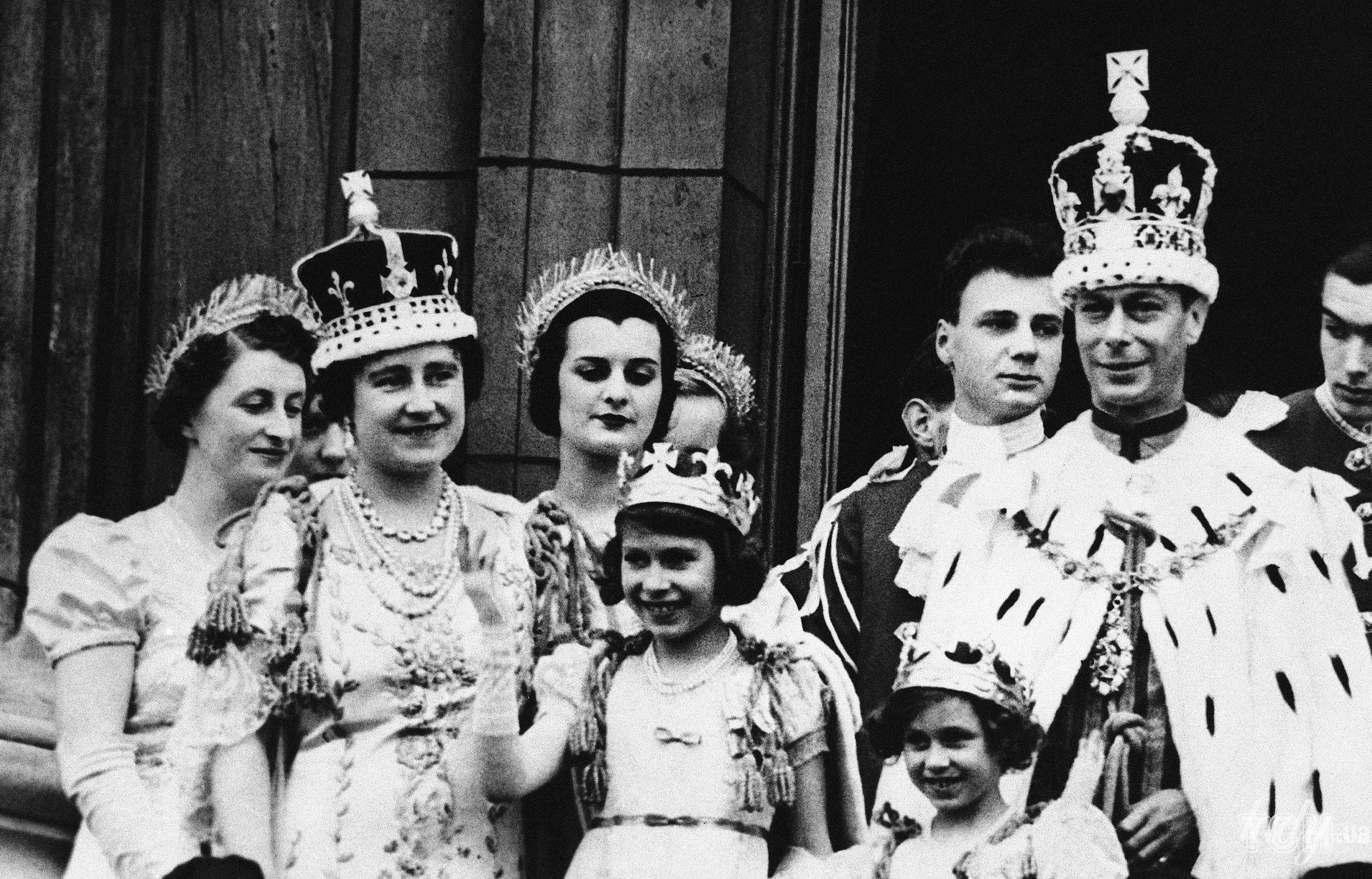 Коронация короля Георга VI
