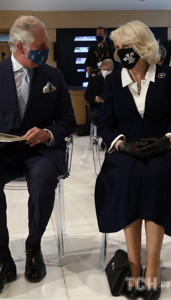 Герцогиня Корнуольская и принц Чарльз