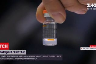 "До України прибула китайська вакцина ""Коронавак"""