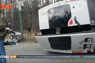 Смертельная авария в Киевской области: двое погибших в результате ДТП на въезде в город Ирпень