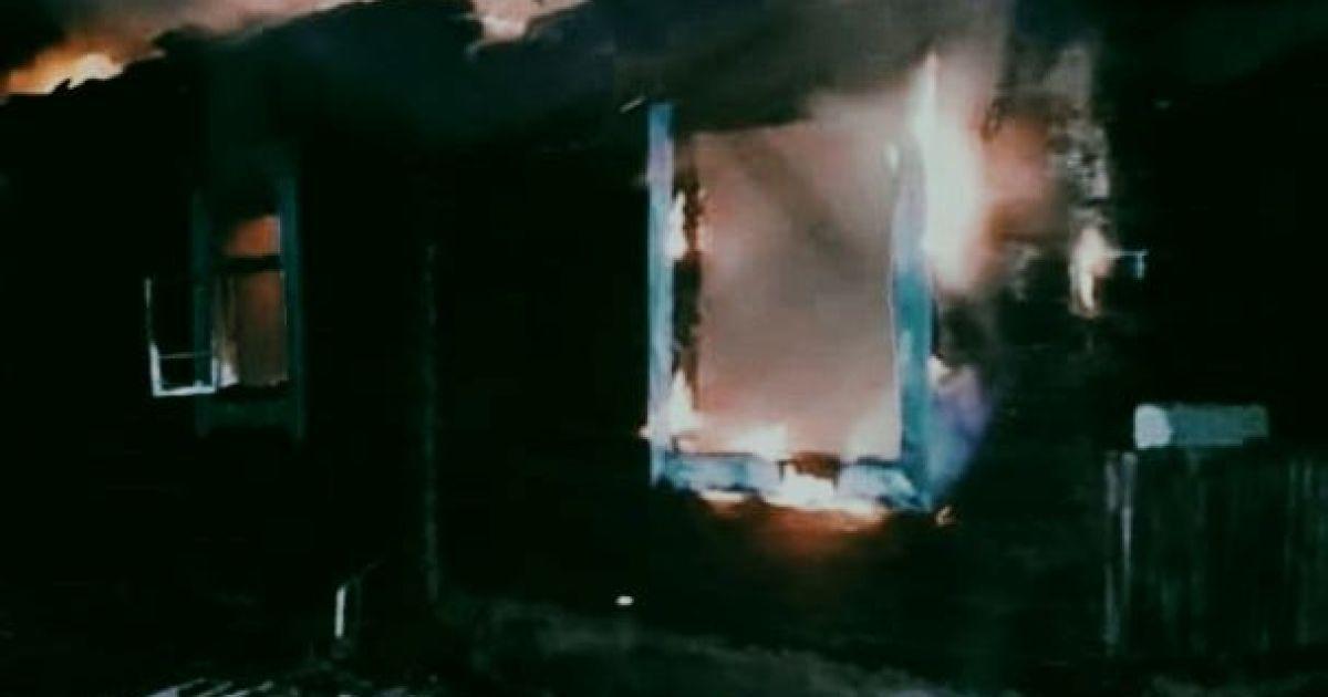 У Львівській області під час пожежі загинув 35-річний чоловік: фото