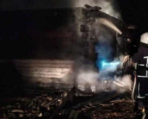 Пожежа у Самбірському районі