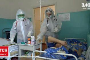 Новини України: через британський штам інфекційні відділення переповнені