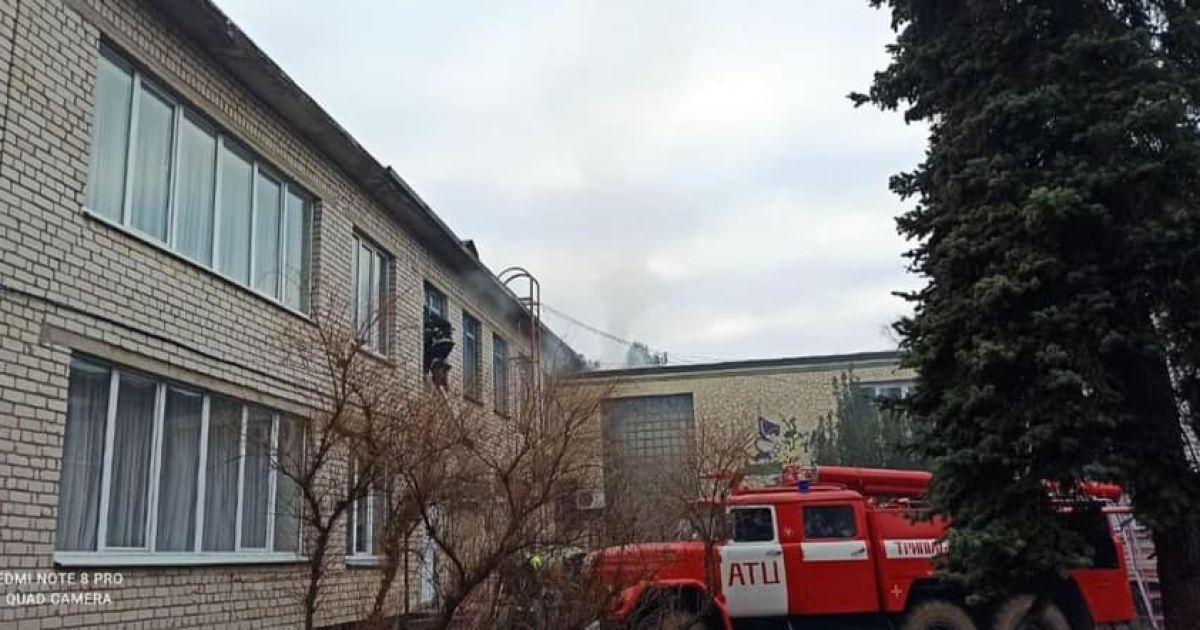 Пожежа у дитсадку під Києвом: МВС розповіло деталі інциденту