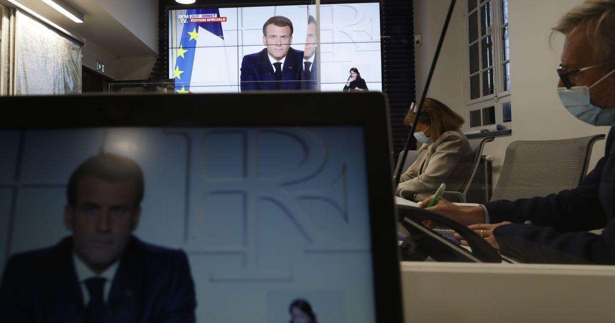 Франция на месяц вводит общенациональный локдаун