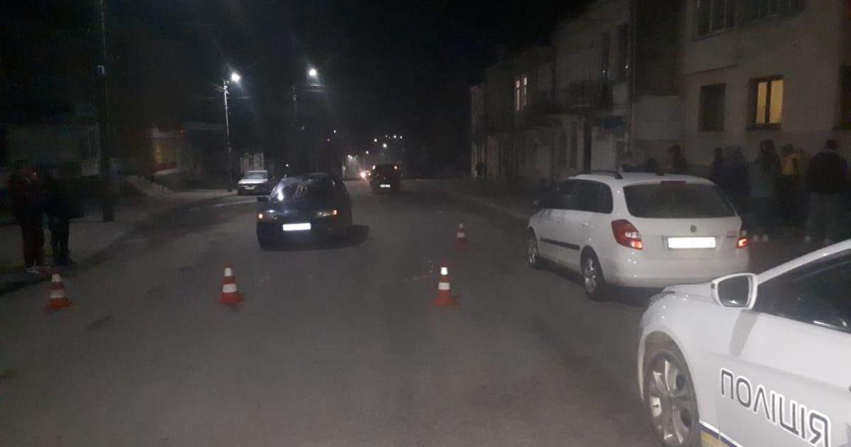 Во Львовской области пешехода сбили сразу два авто: фото