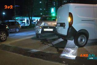 Загадочная ДТП в Киеве: только опросив всех, удалось понять, что произошло и кто врет