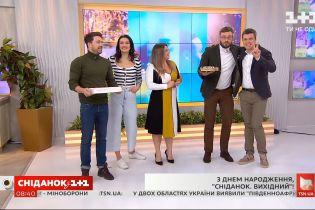 "5 лет ""Сніданку. Вихідний"" – как программа изменила ведущих Сашу Попова и Валю Хамайко"