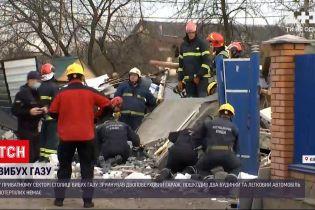 """Новости Украины: вблизи аэропорта """"Киев"""" от взрыва газа полностью разнесло двухэтажный гараж"""