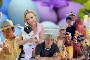 Бекхеми в родинному колі, а Бекінсейл із кенгуру: як зірки відсвяткували Великдень