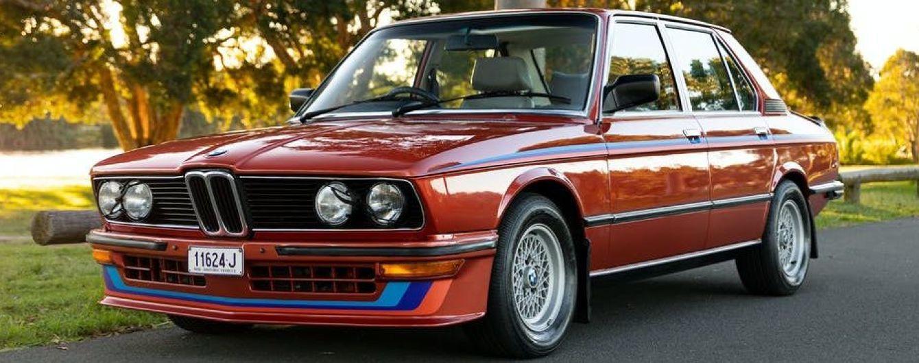 В Австралии продают редкую 40-летнюю BMW с небольшим пробегом: названа цена
