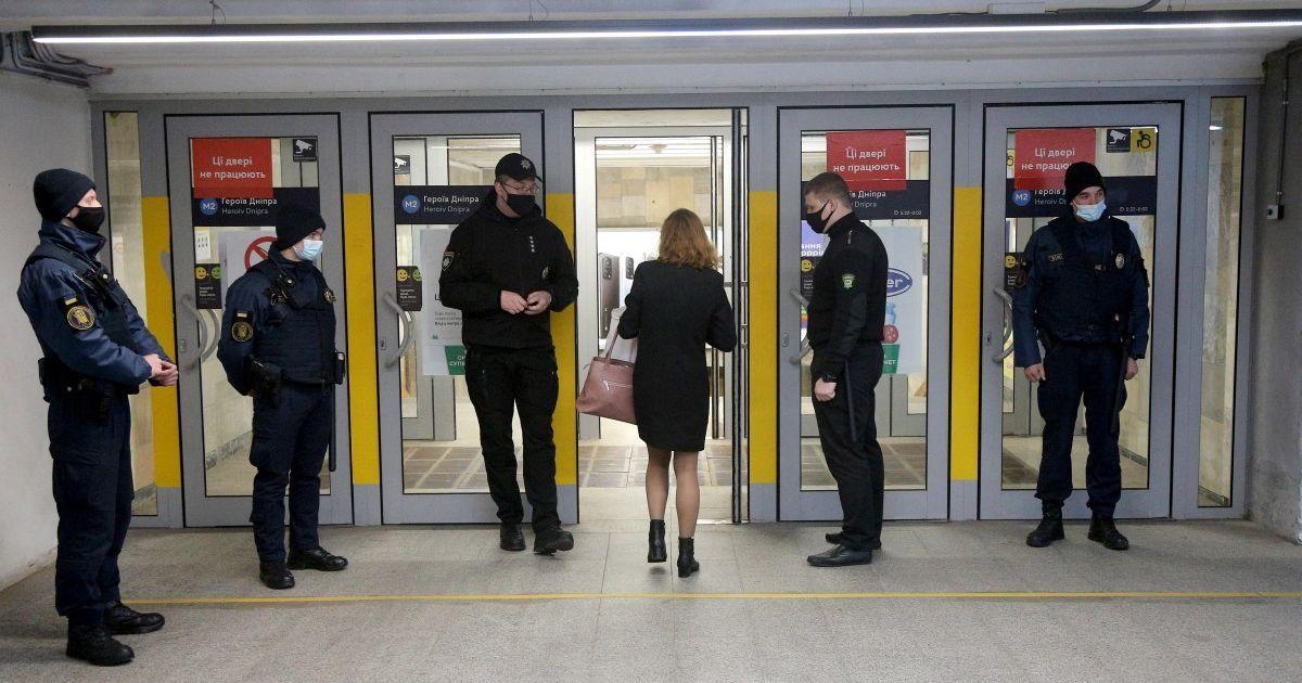 Локдаун у Києві: як працюють станції та вестибюлі київського метро