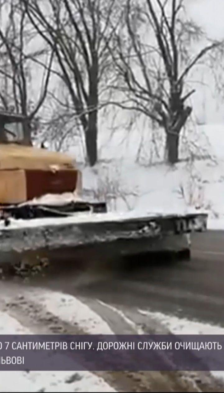 Новости Украины: во Львове и области выпал апрельский снег