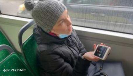 """""""Вела себя высокомерно"""": во Львове депутатку оштрафовали за безбилетный проезд в троллейбусе (фото)"""