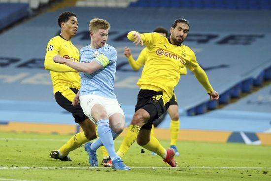 """""""Манчестер Сіті"""" перепідписав одного з найкращих футболістів світу після його голу в Лізі чемпіонів"""
