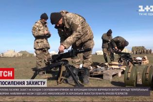 Новини України: на кордоні з окупованим Кримом посилять захист