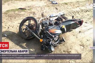 Новини України: на Волині двоє дітей розбилися на мотоциклі, 15-річна дівчинка загинула на місці