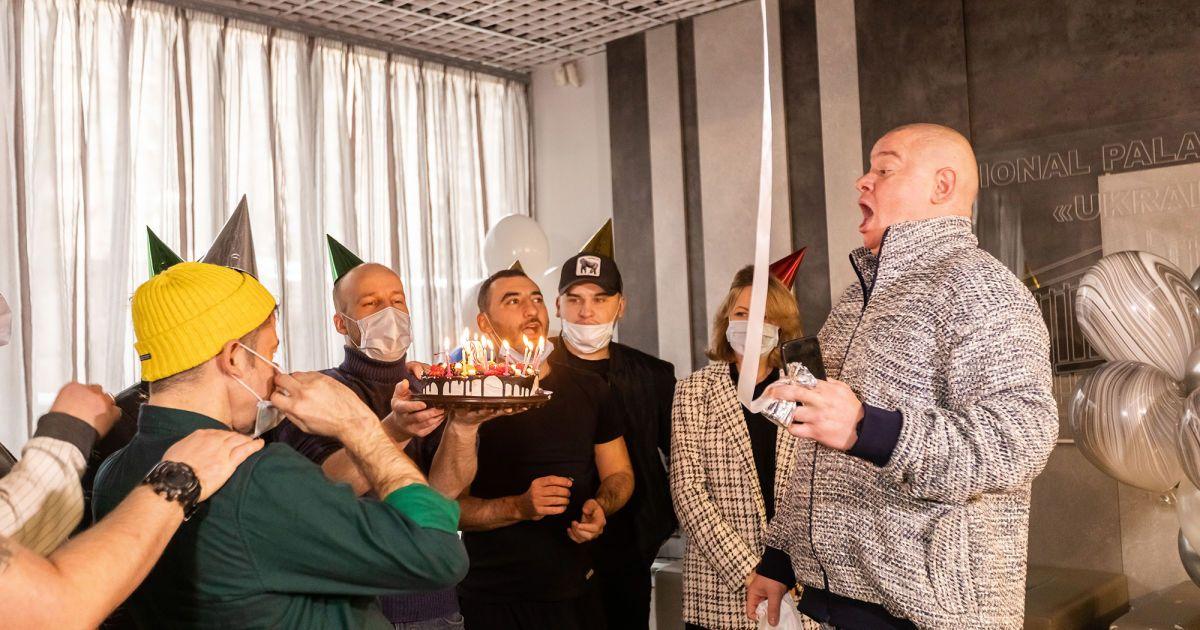 Євген Кошовий відсвяткував 38-річчя: що гумористу подарували колеги та донька
