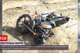 Новини України: на Волині дві неповнолітні сестри потрапили в аварію на мотоциклі