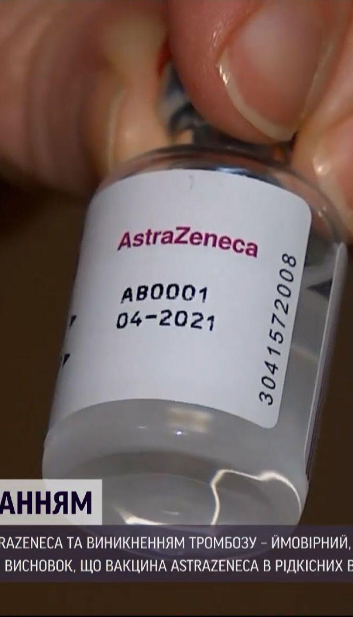 """Новини світу: у ВООЗ не заперечують, що від вакцини """"АстраЗенека"""" можуть виникати тромби"""