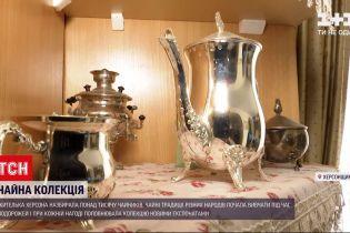 Новости Украины: жительница Херсона собрала коллекцию чайников из разных стран мира