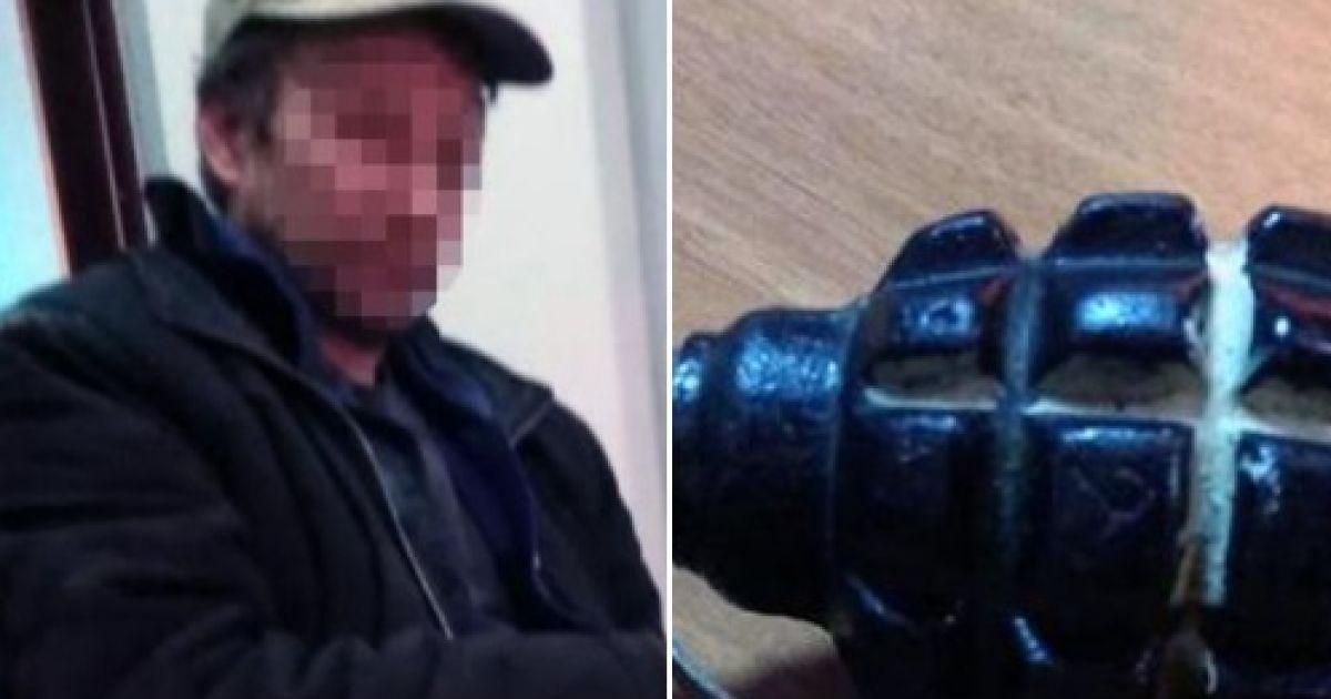 У Києві нетверезий чоловік з гранатою погрожував підірвати комунальне підприємство