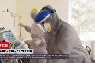 Коронавірус в Україні: в яких областях зафіксували найбільший приріст хворих