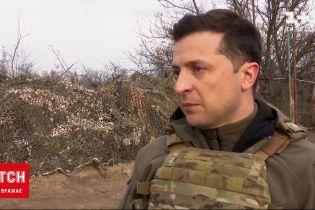 Новости с фронта: Зеленский посетил передовую и поблагодарил украинских защитников
