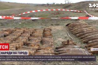 Новини України: в Одеській області чоловік знайшов на власному городі снаряди часів Другої світової