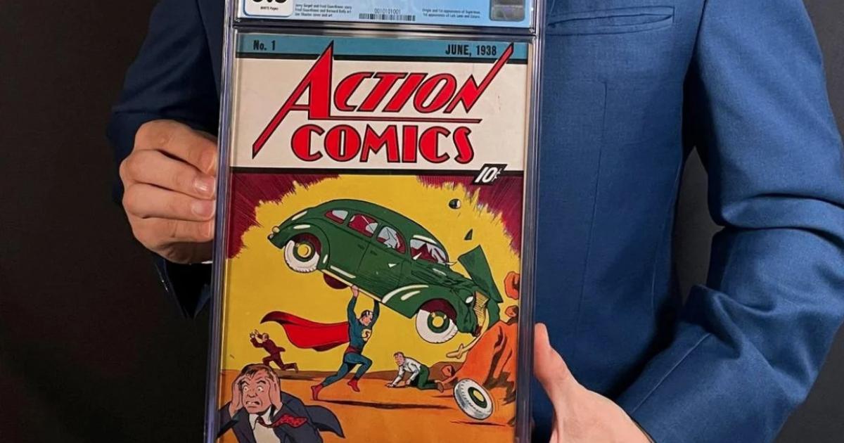 Перший комікс про Супермена продали за рекордні 3,25 млн доларів