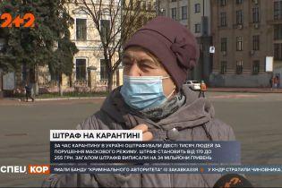 Какие штрафы за несоблюдение масочного режима и карантина в Украине