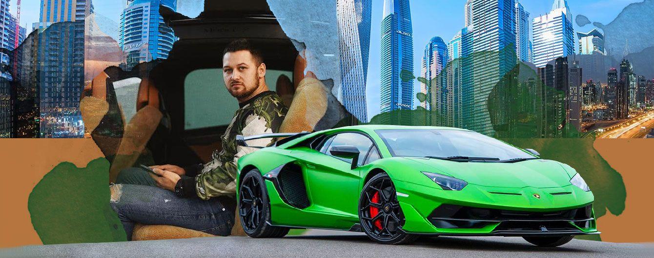 """""""Попав на шахраїв, хочуть $20 тисяч"""": українець застряг в Дубаї після дрифту на орендованій Lamborghini"""