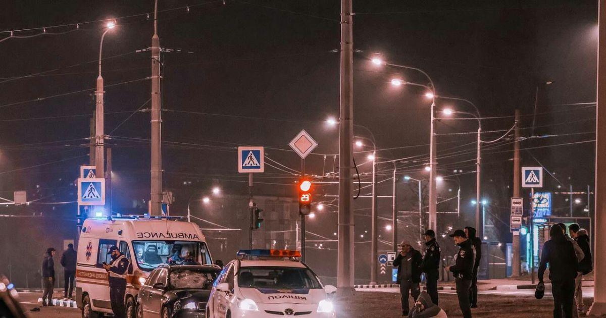 Збив на пішоходному переході та протягнув 50 метрів: у Харкові чоловік загинув під колесами легковика