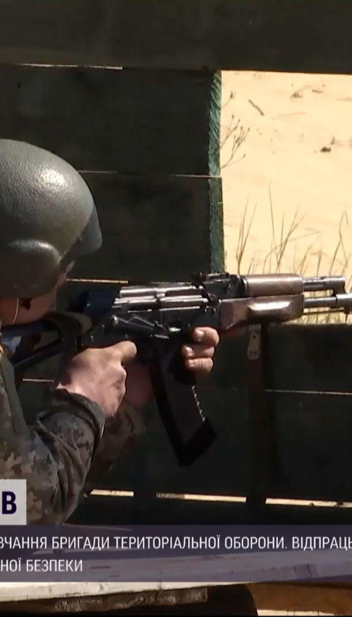 Новости Украины: в Херсонской области продолжаются внеочередные обучение бригады территориальной обороны