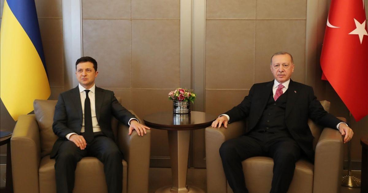 Переговоры Зеленского и Эрдогана продолжались три часа