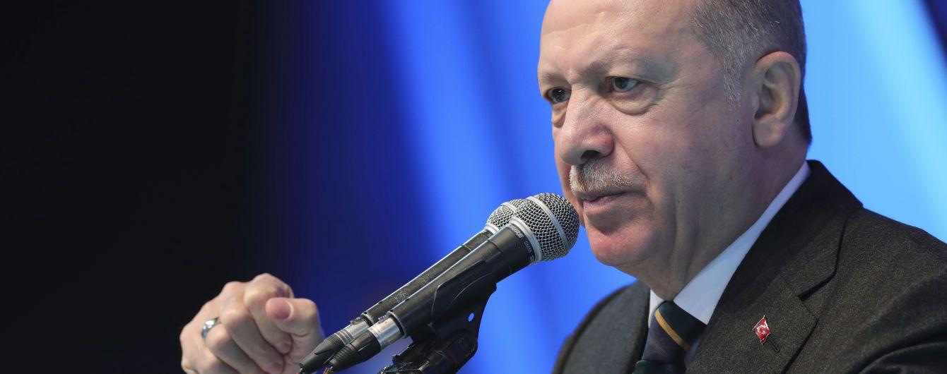 Ердоган обговорив зі Столтенбергом пересування військ РФ на кордоні з Україною
