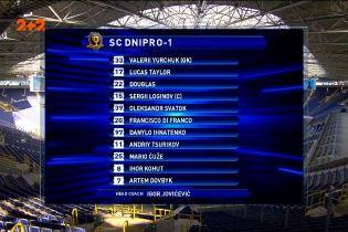 Динамо – Дніпро-1 - 2:0. Огляд матчу