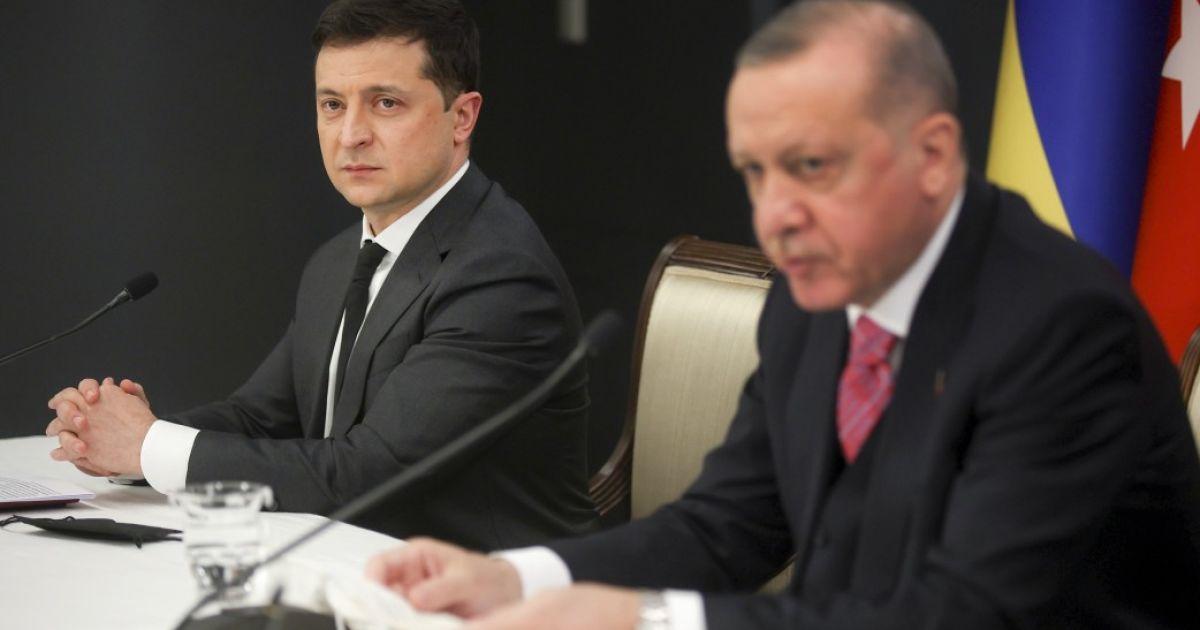 Зеленский: Партнерство Украины и Турции существует не на словах, а подкреплено реальными делами