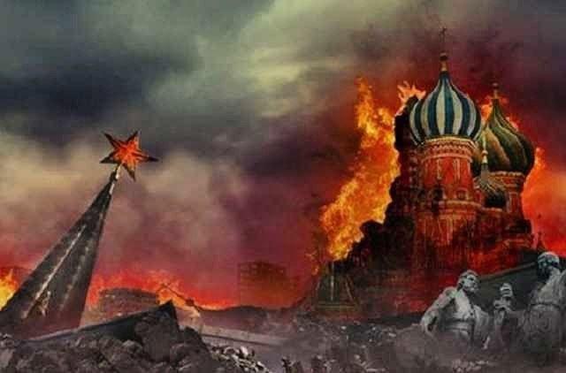 Москва згоріла повністю