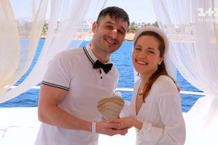 Наталка Денисенко та Андрій Федінчик поновили обітниці в Єгипті