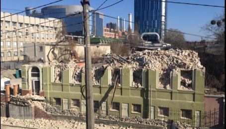 В Киеве снесли историческое здание: прокуратура начала расследование