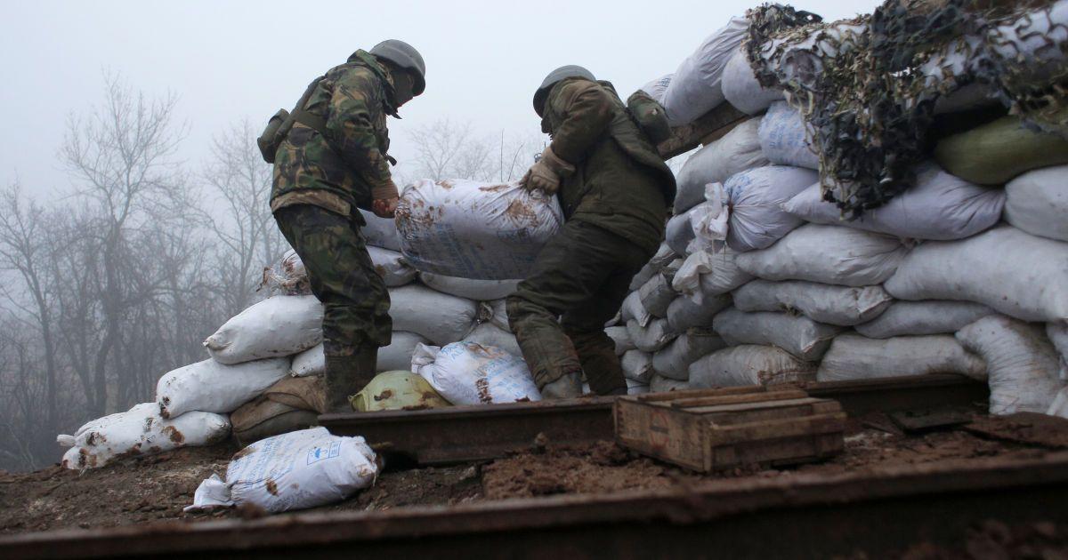 Протягом доби бойовики вісім разів порушили режим припинення вогню - ООС