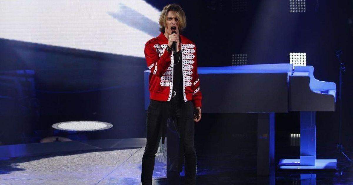"""""""Голос країни-11"""": рокер з команди Винника зважився на """"Богемську рапсодію"""" у прямому ефірі"""