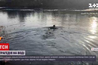Новости Украины: в Полтаве у плотины на Вакуленцах перевернулась лодка с тремя людьми