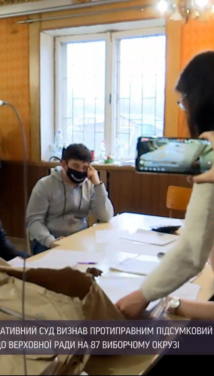 Новости Украины: Ивано-Франковский окружной админсуд признал недействительными результаты довыборов в Раду