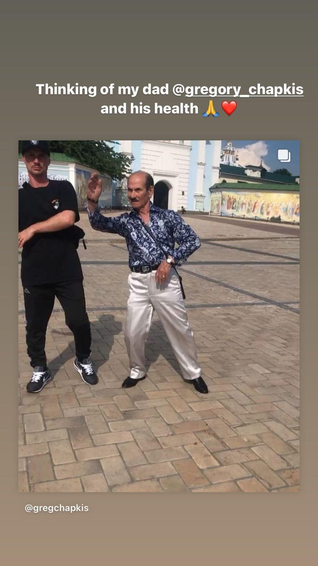Григорій Чапкіс з сином_1
