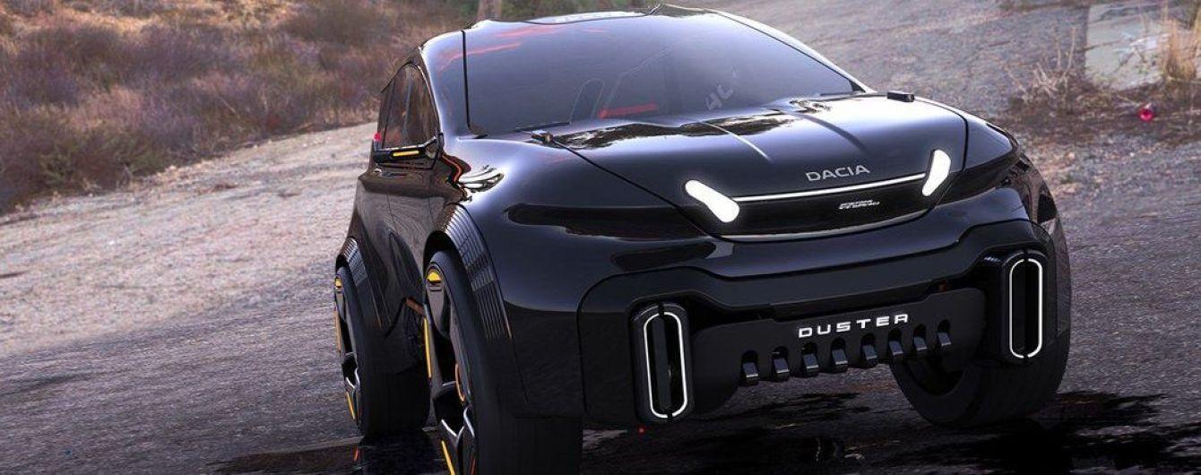 Має суперсучасний вигляд: у Мережі показали, яким може бути бюджетний кросовер Dacia Duster у майбутньому