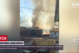 Новини України: у Вінниці через охоплений вогнем сухостій у небезпеці опинилось кілька сотень людей